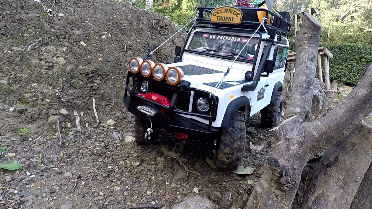 Rc4wd Gelande With Land Rover D90 Body