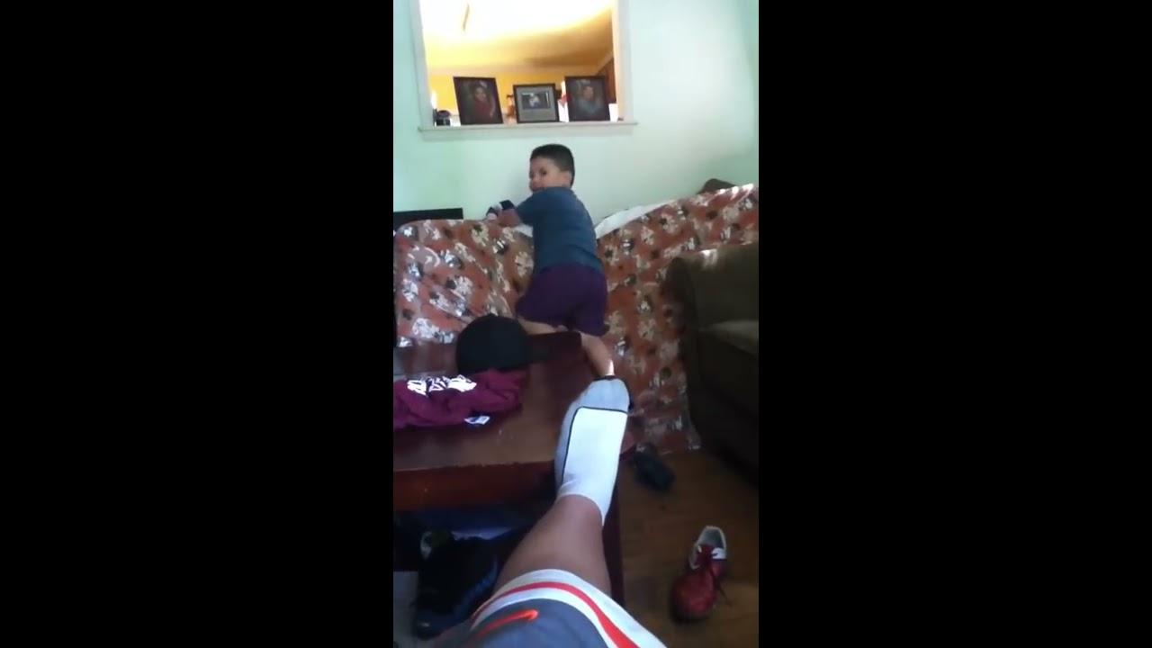 Boy humping a girl