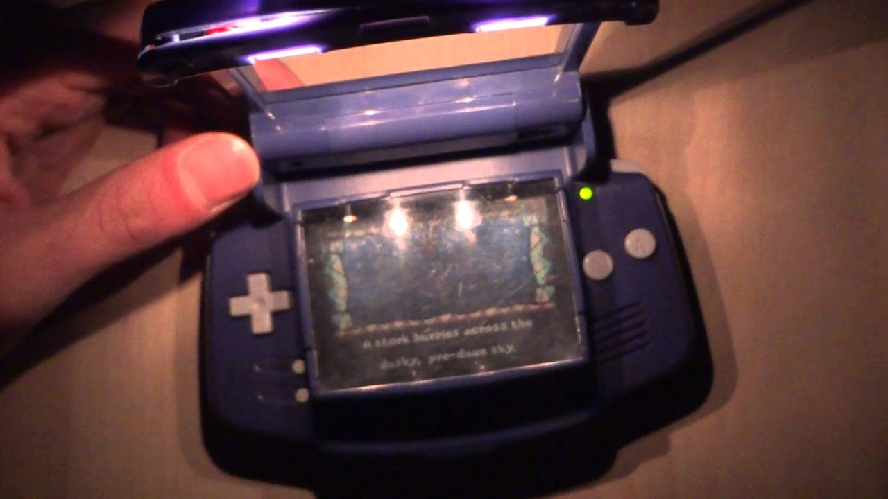 Gameboy Advance Display Beleuchtung Gba Light Magnifier Youtube