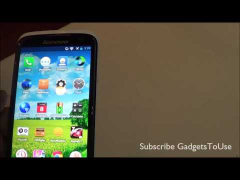 Lenovo S820 Hands on Review   Specs and Features Overview