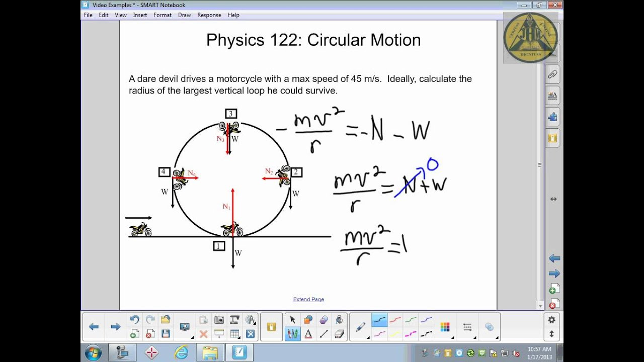 physics making the loop circular motion physics 122 making the loop circular motion