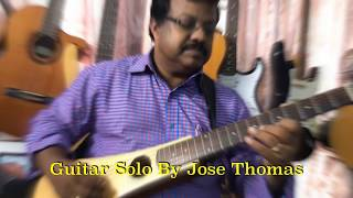 Kuliradunnu Manathu |Guitar Solo |By Jose Thomas|