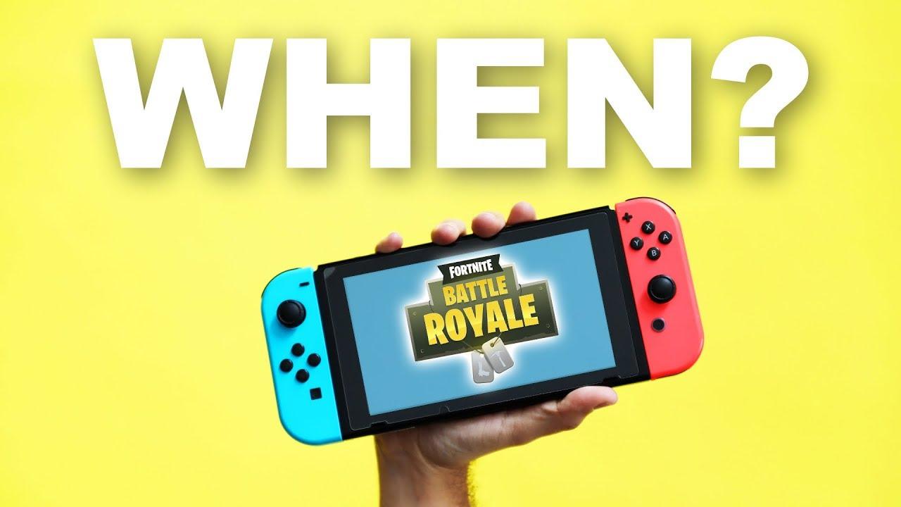 Fortnite On Nintendo Switch Youtube