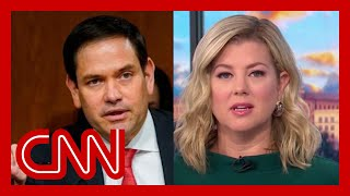 Keilar: Rubio took a swing, missed and hit himself in the face
