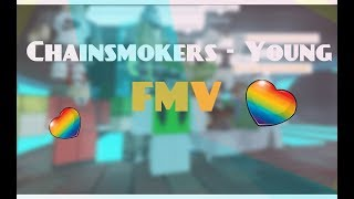 Chainsmokers - Joven (ROBLOX FAN MUSIC VIDEO) - 5k Especial