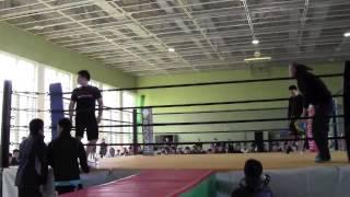 第八回東北総合格闘技大会「CHALLENG.8 DX」 第1試合 -95kg 組み技ルー...