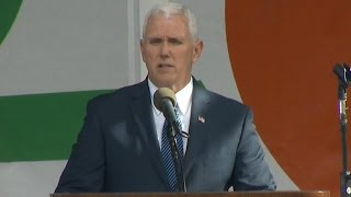 """Vice President Mike Pence speaks at the """"March for Life"""" rally"""