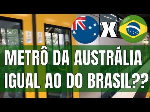 Fazer As Malas | Vida na Austrália 09 - Metrô de Sydney igual ao do Brasil??