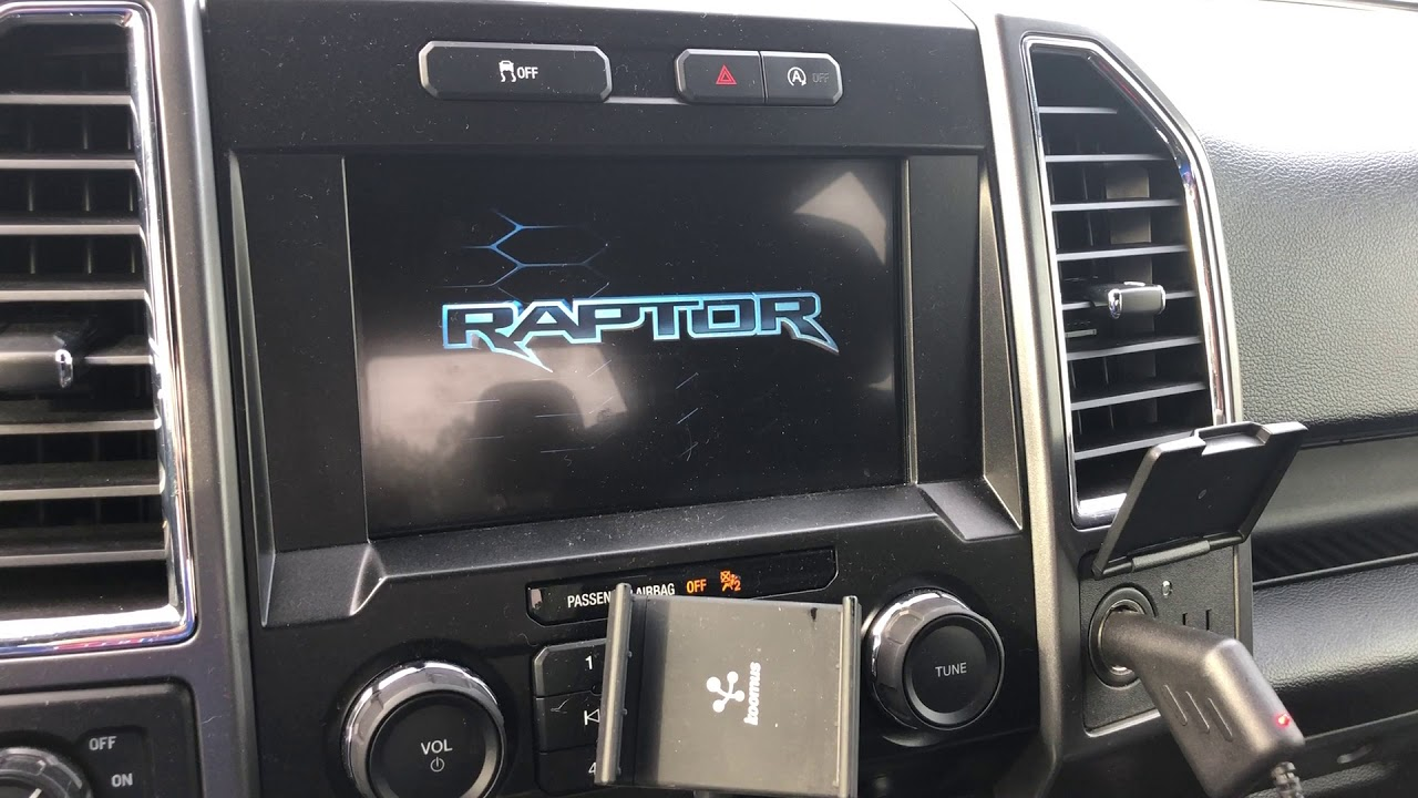 Ford F-150 Forscan Sync 3 Raptor Splash and Climate Control