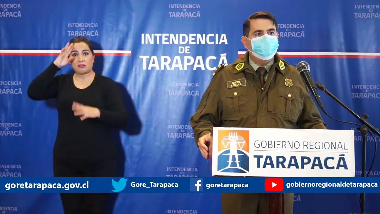 Punto de prensa 07 de julio de 2020 - Gobierno Regional de Tarapacá