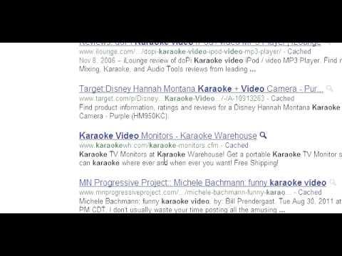Search Results - Karaoke Video Website