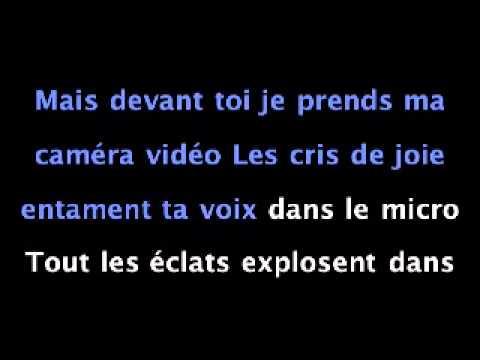 Les Trois Accords - Caméra vidéo - version karaoké