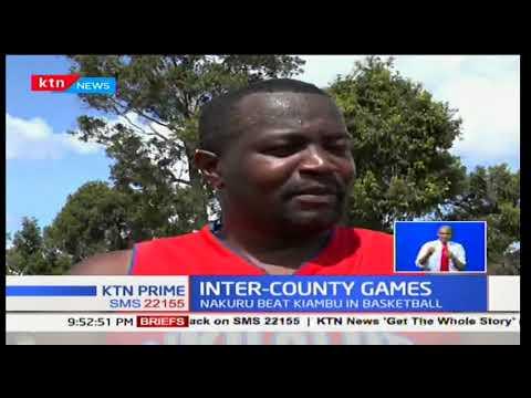 Inter-county games: Nakuru beat Kiambu in basketball