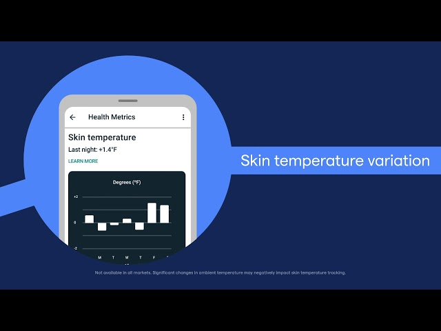 Tune into your body with the Health Metrics Dashboard