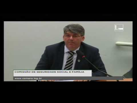 SEGURIDADE SOCIAL E FAMÍLIA - Audiência Pública - 18/10/2016 - 10:10