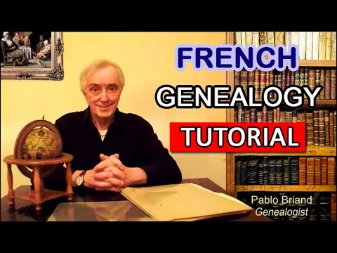French Genealogy Tutorial
