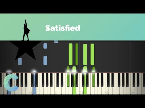 Hamilton - Satisfied Piano Tutorial