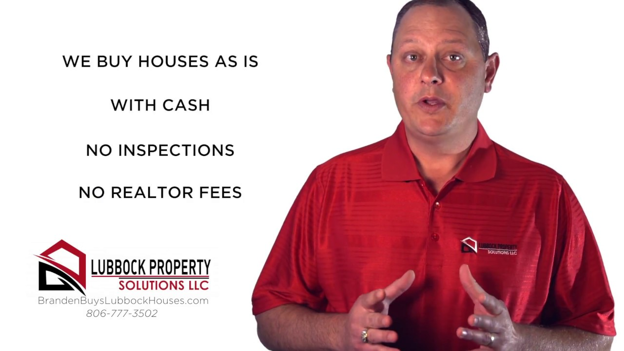 Who Buys Houses with Cash in Lubbock - CALL 806-777-3502 - Sell Your Lubbock House Fast