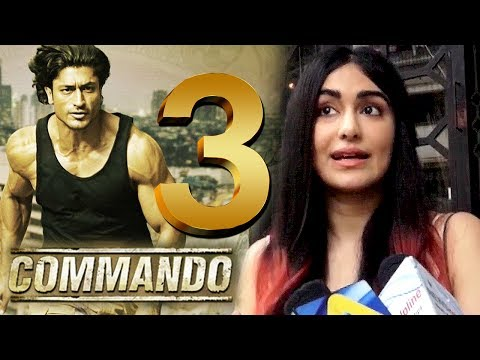 Adah Sharma Talking About Commando 3 Movie!