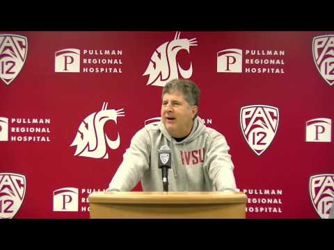 WSU Football: Mike Leach Press Conference 11/25/19