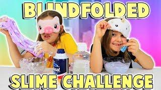 BLINDFOLDED SLIME CHALLENGE | JKrew