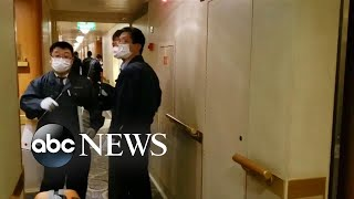 Desperation sets in aboard quarantined cruise ship l ABC News