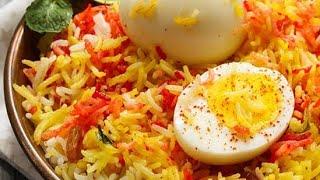 Egg pulao delicious recipe