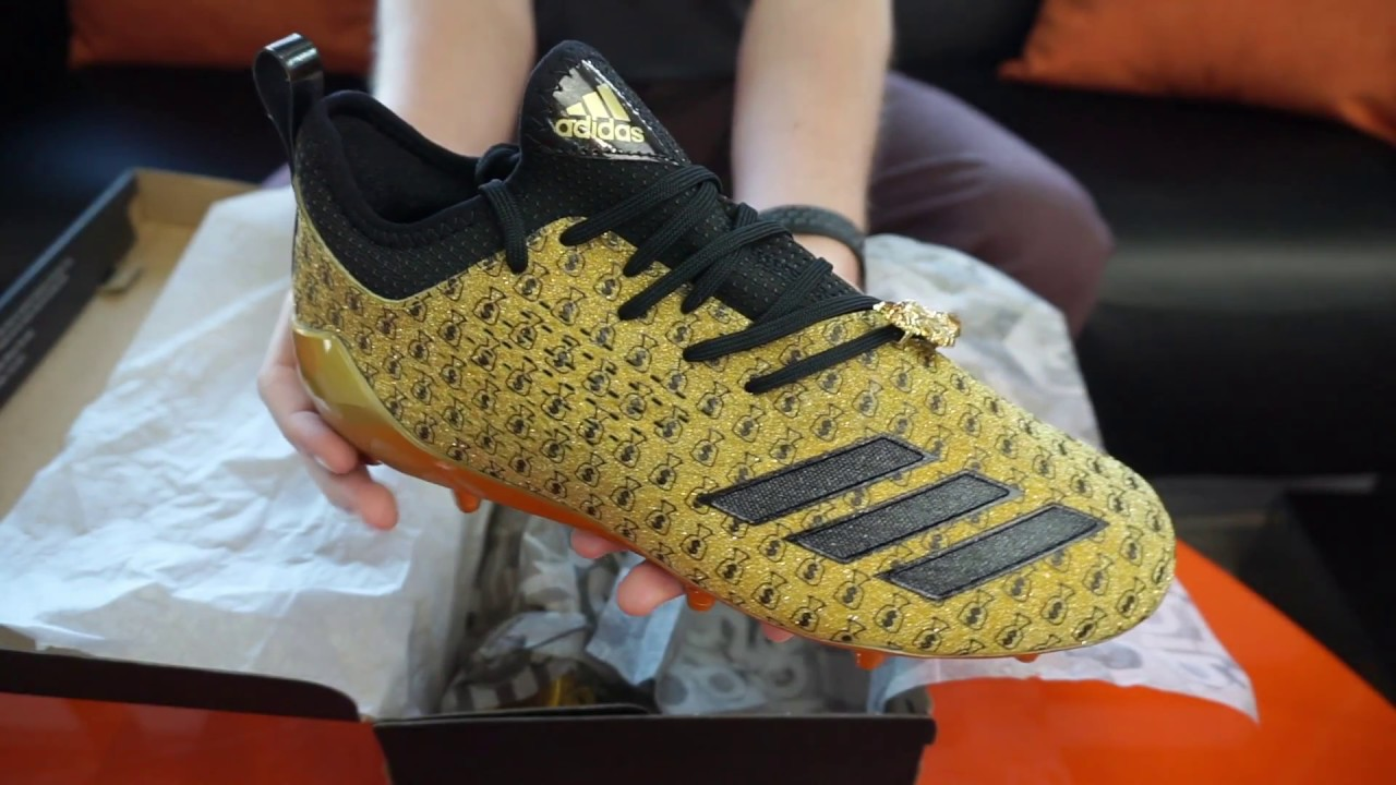 9e96f157fff Adidas Adizero 5 Star 7.0 7v7 Money Bag Emoji Snoop Dogg Cleat SKU DB0895  RevUp Sports Unboxing