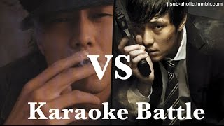 "So Ji Sub / (Eng Sub)""KARAOKE Battle"" Moo-hyuk vs Hyeong-do."