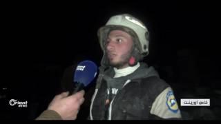 أكثر من 50 قتيلا في غارات للاحتلال الروسي على بلدة الجينة غرب حلب