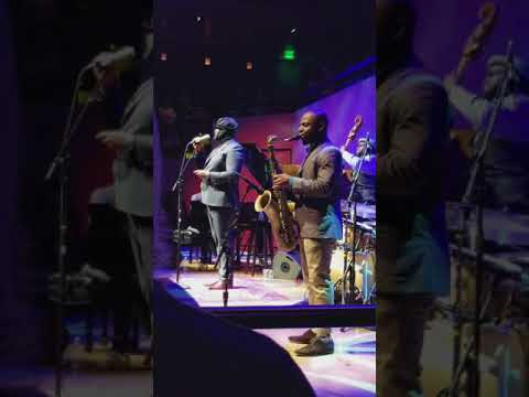 Gregory Porter sings, Insanity Sfjazz San Francisco