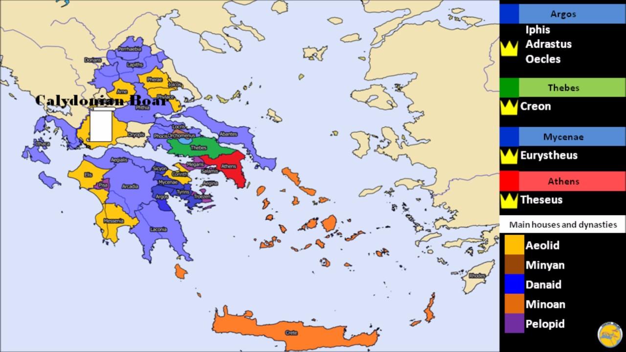 Mycenaean Greece And Mythology Youtube
