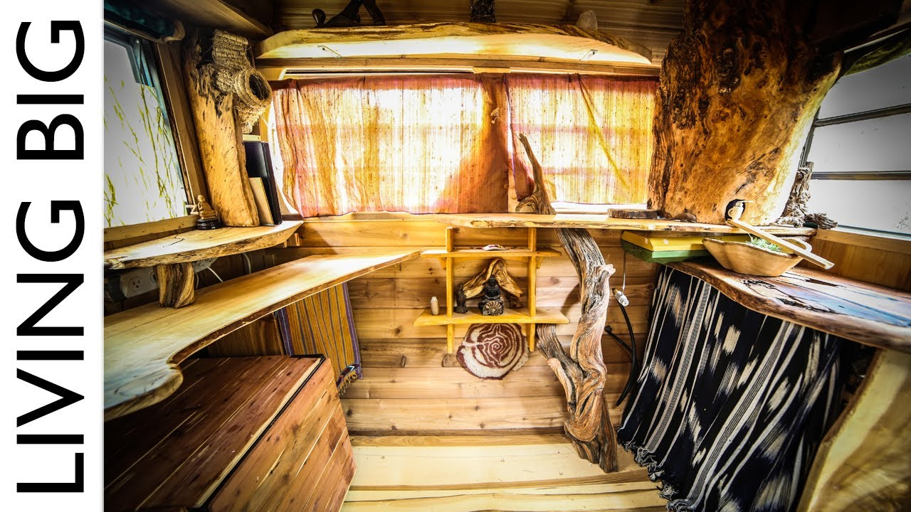 caravan converted to stunning tiny house for only  1000