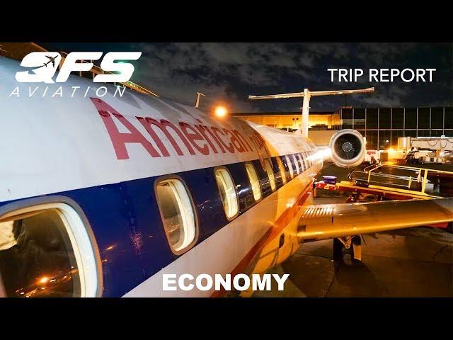 TRIP REPORT   American Eagle - ERJ 140 - Montréal (YUL) to New York (LGA)   Economy