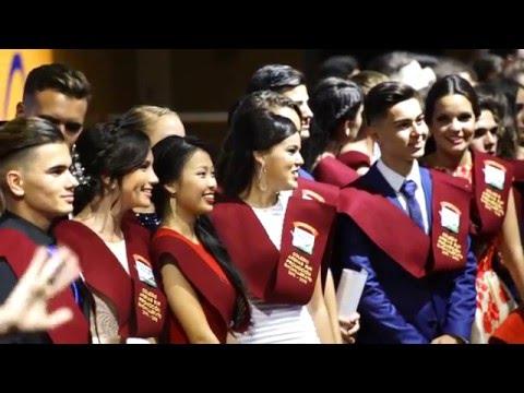 ACTO DE GRADUACIÓN 2016 -  COLEGIO ARENAS ATLANTICO