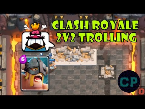 Clash Royale Trolling with Grimm222