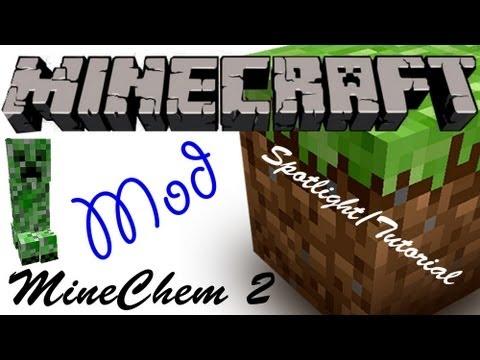 Minecraft Spotlight: MINE CHEM 2 (1.4.6) -=Mod Showcase & Tutorial=-