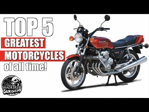 Top 5 Greatest Motorcycles of All Time