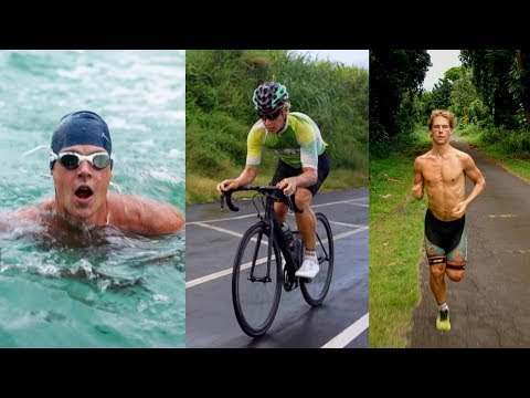 ROAD CYCLIST Transitions To TRIATHLON