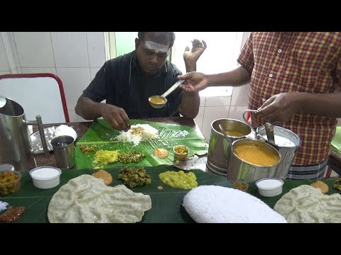 Chennai Lunch Only 60 rs ($ 0.85) | Worlds Best Cheapest Tha