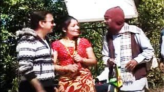 माग्ने बुढा सुटिंगमा || Magne Budha, Bhuwan KC || Meri Bassai || Best Nepali Comedy Clip