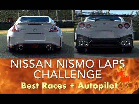 Real Racing 3 RR3 Nissan NISMO Laps Challenge: Best Races + Autopilot