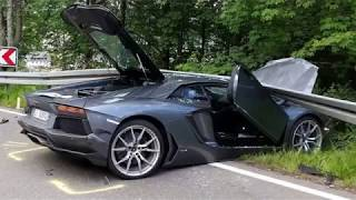 EXPENSIVE LUXURY CAR CRASH COMPILATION AUGUST 2018 DRIVING FAILS