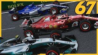 FINALLY SOME SPEED IN BAKU!  8/20  F1 2017 Sauber Career Mode S4. Episode 67