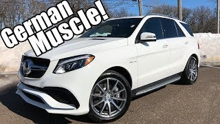 2018 Mercedes GLE AMG Review!! A Foreign Muscle Car For Sure!!