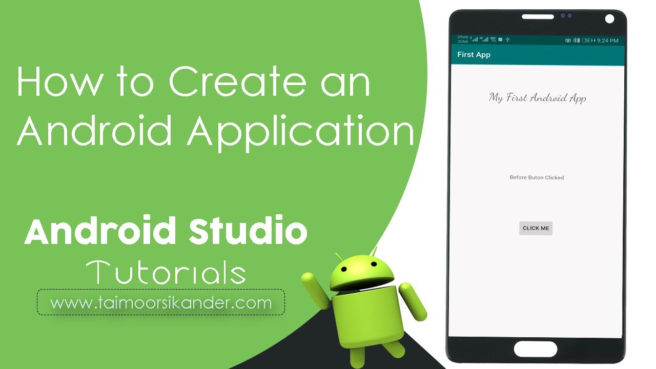 Create An Android App For Beginners And Change Text On Button Click