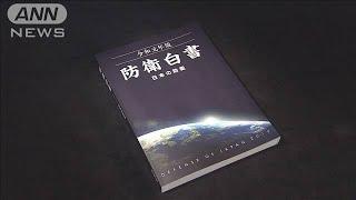 防衛白書「日韓の防衛協力に影響」 韓国の対応批判(19/09/27)