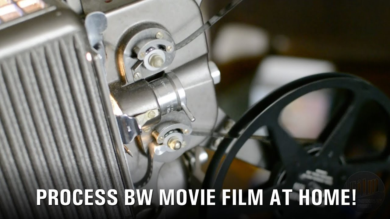 Develop BW Movie Film At Home - The Film Photography Project