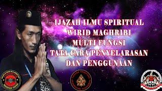 IJAZAH ILMU SPIRITUAL WIRID MAGHRIBI MULTI FUNGSI