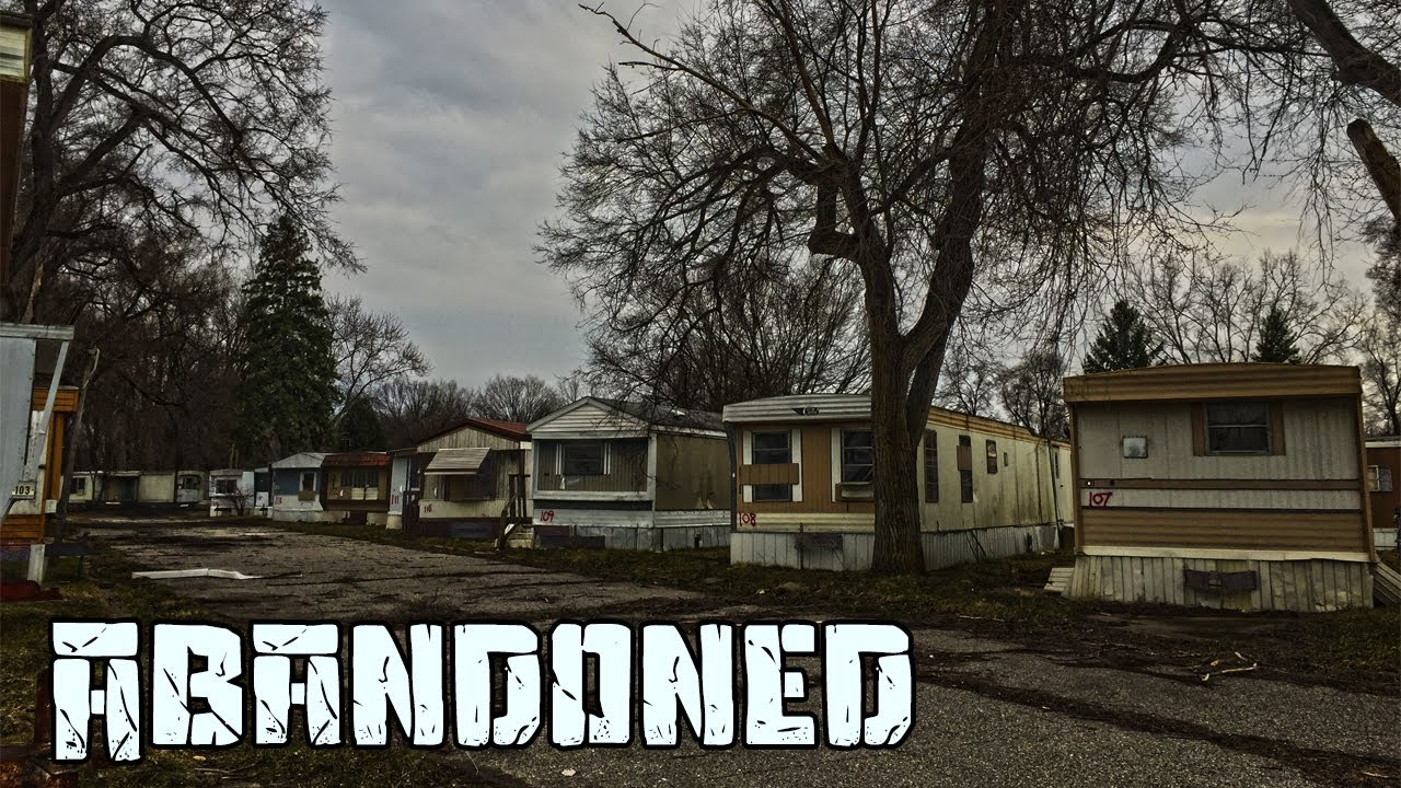 Huge Abandoned Trailer Park Chased By A Tractor Life O Riley Lansing Mi